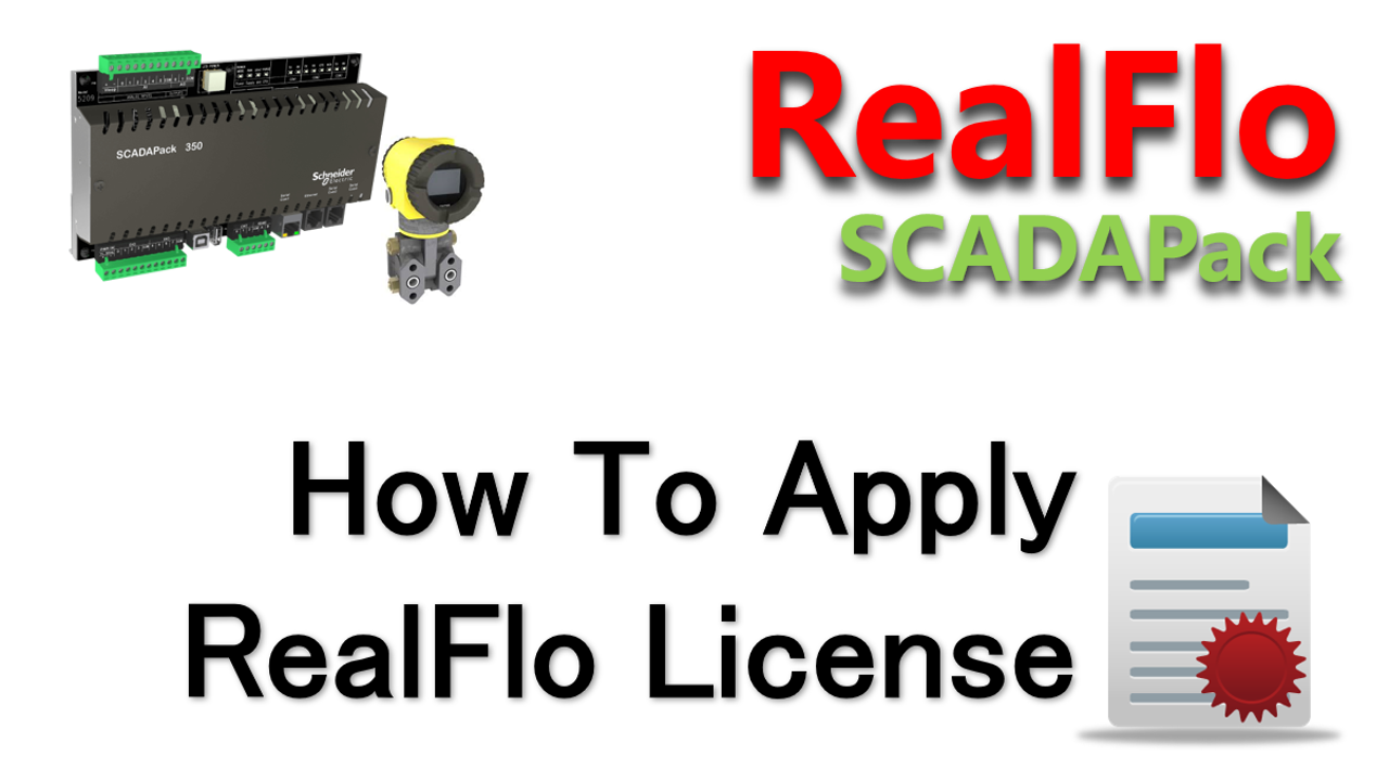 How To Activate RealFlo License Using Telepace Studio