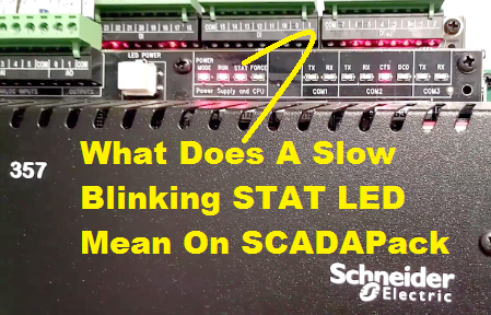 TechTalk - SCADAPack : STAT LED Blinking