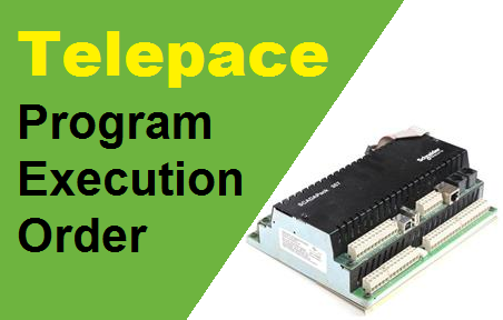 TechTalk - Telepace : Program Execution Order
