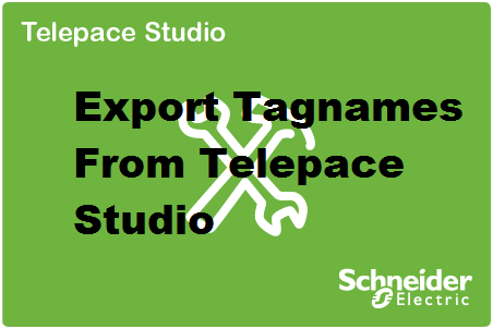 Telepace SCADAPack - Exporting Multiple Tag Names