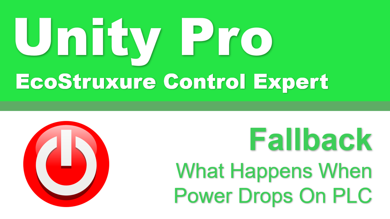 Schneider Electric Control Expert Fallback Explained