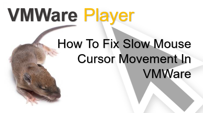 TechTalk - VMWare : Slow Mouse Cursor Movement