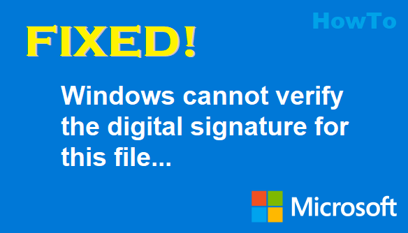 TechTalk - Windows Driver Signature