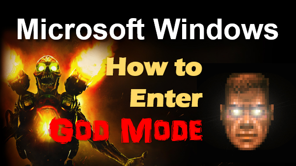 TechTalk - Windows : God Mode In Windows 10