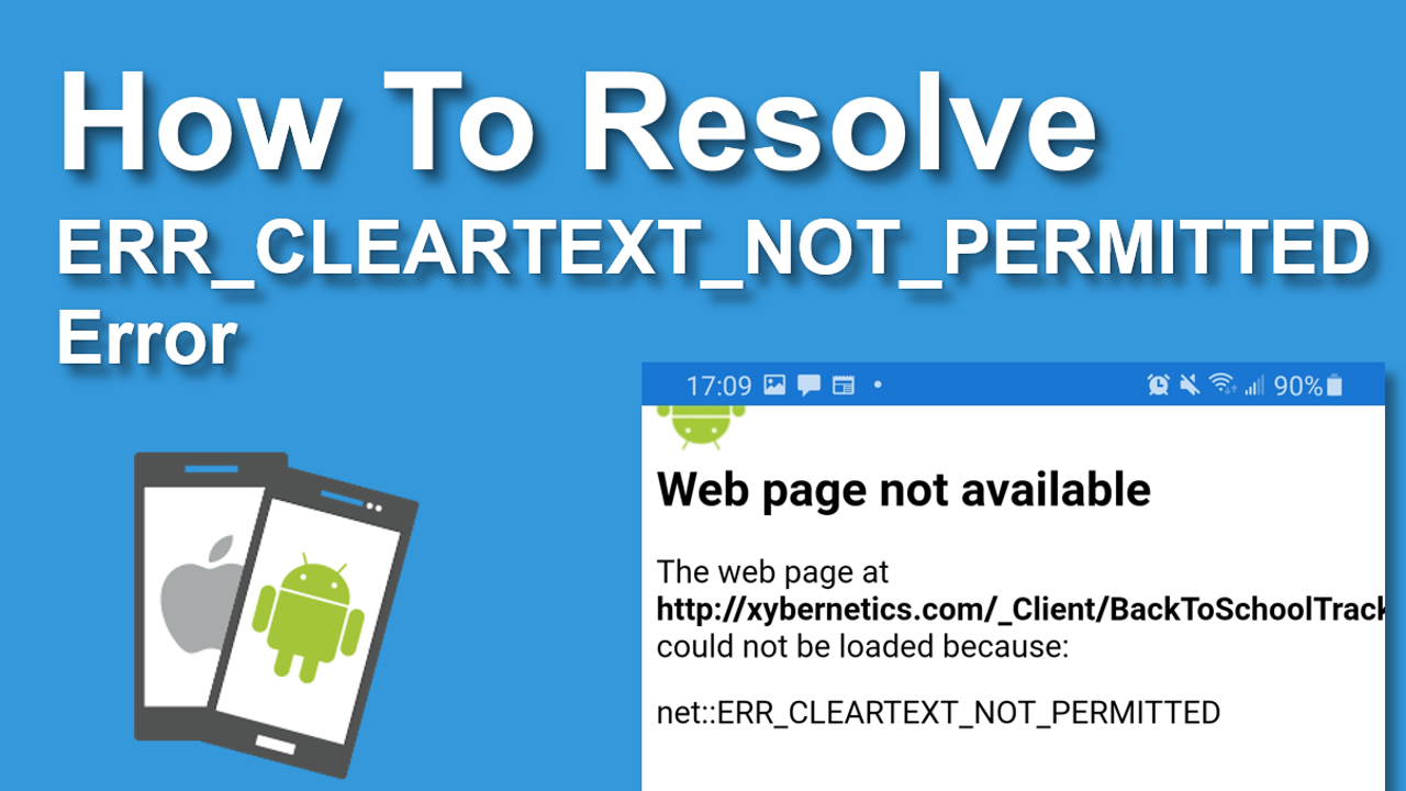 How To Resolve ERR_CLEARTEXT_NOT_PERMITTED Error In Xamarin