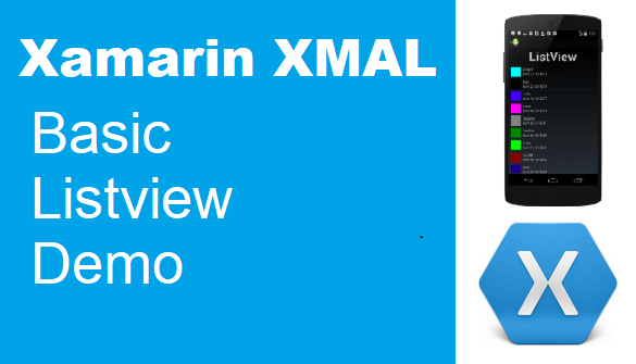 TechTalk - Xamarin LiteView : Very Basic Demo