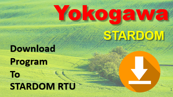 Download Program Into Yokogawa STARDOM PLC