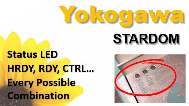 Yokogawa STARDOM Status LED HRDY RDY CTRL
